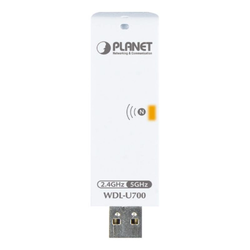300Mbps Dual Band 802 11n Wireless USB Adapter Planet WDL-U700