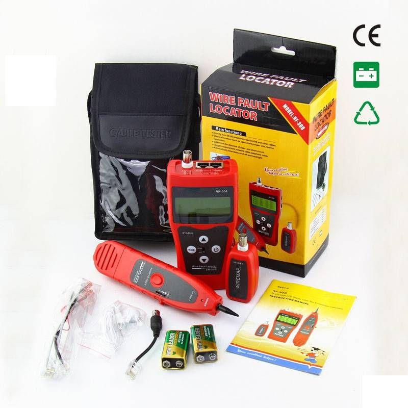 www.123nhanh.com: NF-308 NOYAFA máy test mạng đo được số mét cáp giá tốt