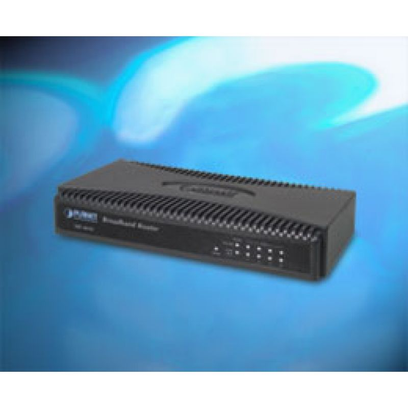 Broadband Router With 4 Port Switch Planet Xrt 401d