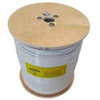 Cablu Coaxial 75ohm nextraCOM RG6U60N - 305m