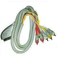 Cablu SCART - 6RCA, 1.5m