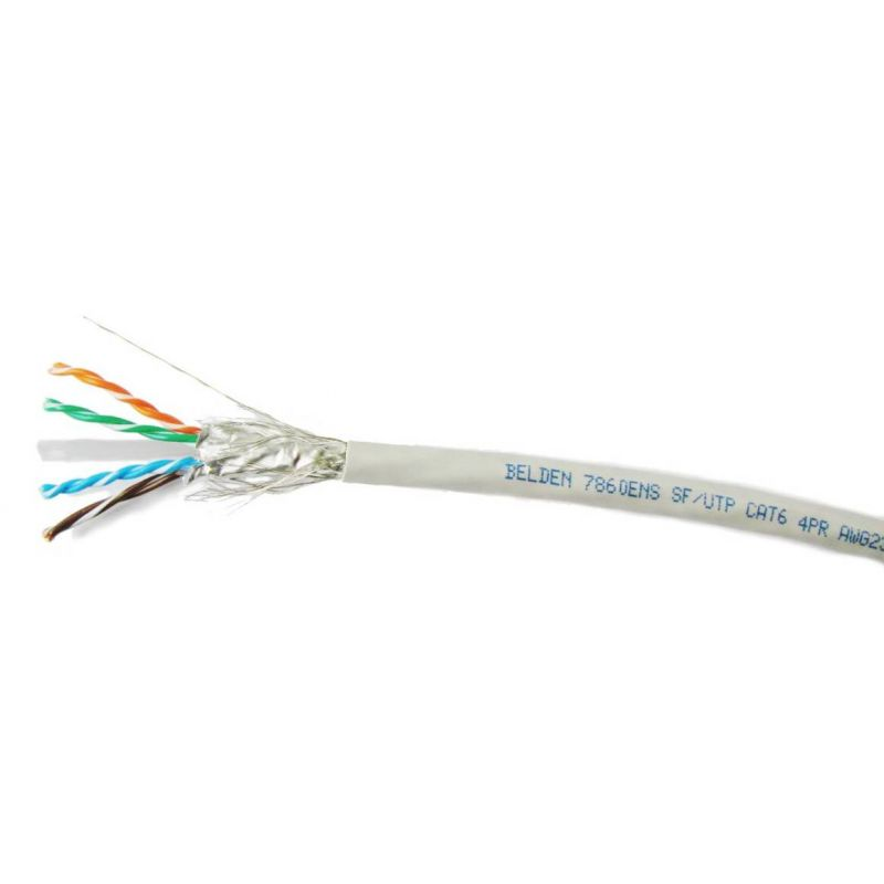 Stp Cable Belden 7860ens S Ftp Cat 6 Cable 23awg