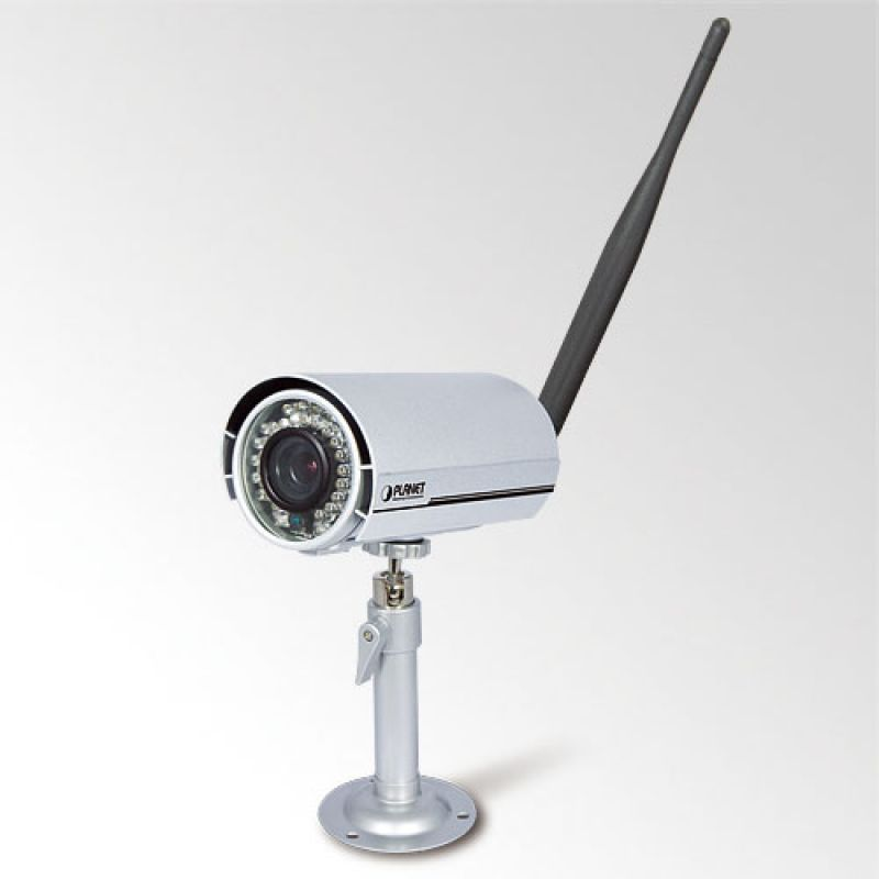 Camera De Supraveghere Ip Wireless De Exterior Cu Infrarosu Poe Planet Ica Hm316w Camera De