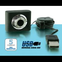 Camera web USB 5Mpixel HW8809BK
