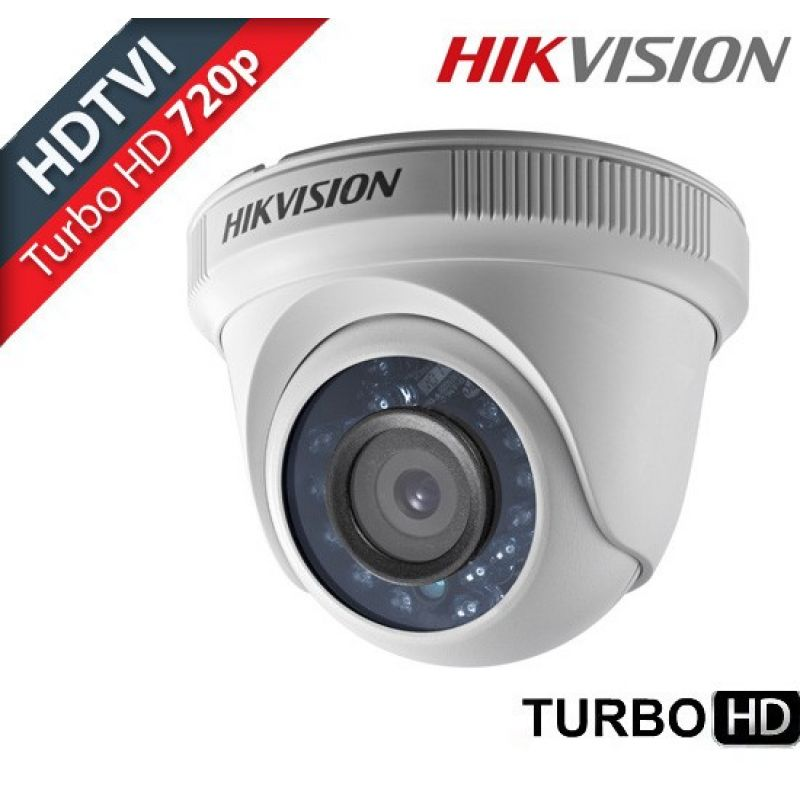 Camera Dome Interior Turbo Hd Hikvision 1mp Lentila 3