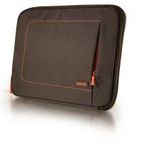 "Oxford Tablet &  Netbook Protection Sleeve 10,2"" brown-orange ins."
