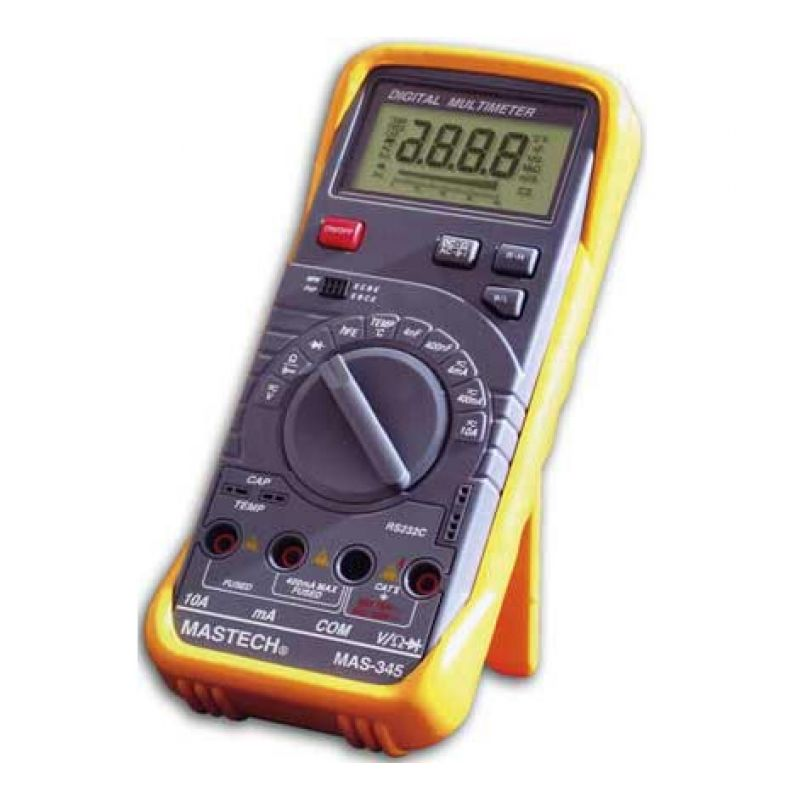 Digital multimeter Mastech MAS345 - Digital multimeter ...