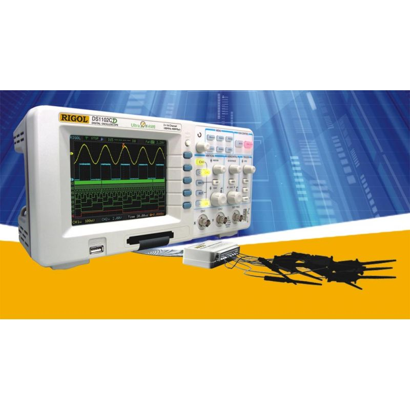 Digital Oscilloscope Rigol Ds 1022 C 25 Mhz Digital