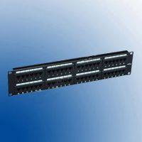 Patch Panel 48 porturi RJ45, standard sertizare Krone Braun Group PP48-KR