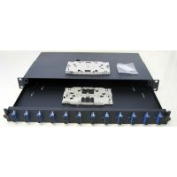 1U Optical patch panel 24 adapters