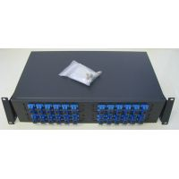 "Optical Patch panel ODF 1U (for 19"" rack) equiped with 48 adapters, SC/PC"