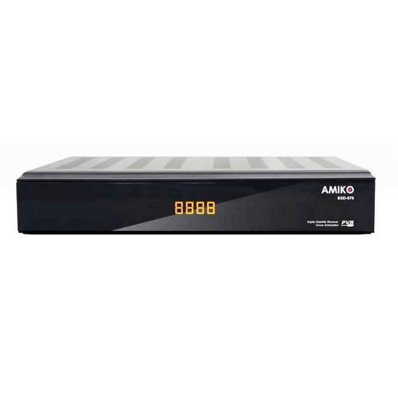 digital satellite receiver amiko sdd 570 conax digital. Black Bedroom Furniture Sets. Home Design Ideas
