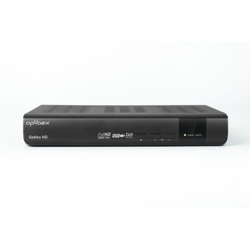 high definition digital satellite receiver optibox gekko. Black Bedroom Furniture Sets. Home Design Ideas