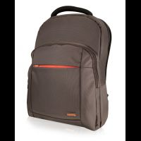 "Oxford Notebook Backpack 15,6"" brown with orange insert"
