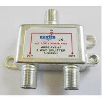 Spliter cu telealimentare pentru satelit nextraCOM FVS2P - SAT242