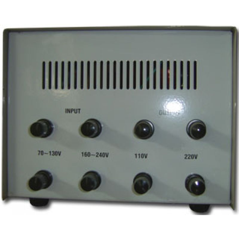 1500va Voltage Stabilizer With Servomotor Braun Group Svc