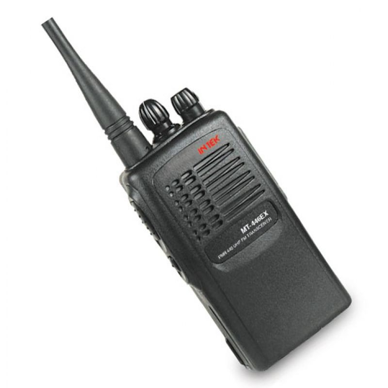 proffesional handheld transceiver - 16 computer programmable channels