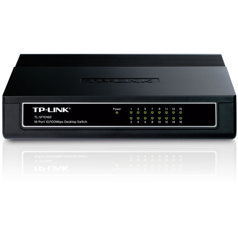 Switch 16 Port Uri 10 100mbps Desktop Tp Link Tl Sf1016d